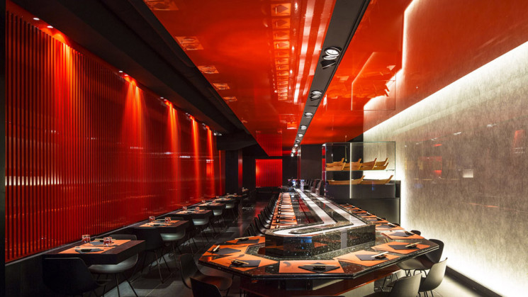 Zen Sushi Restaurant, an architectural walk with Carlo Berarducci