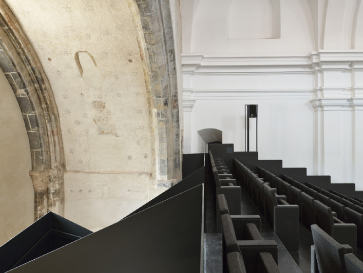 Redesigning a former monastery into a modern performance centre