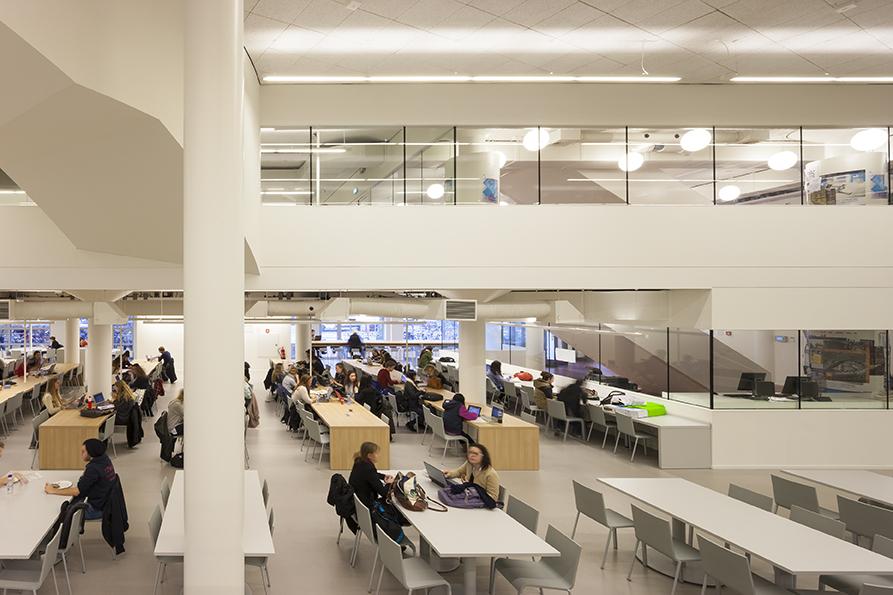 PUUR interieurarchitecten - learningcenter UVA Amsterdam
