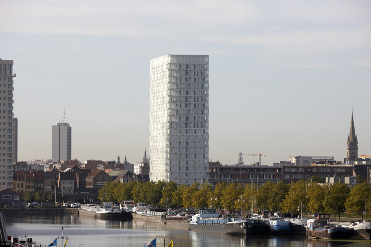 Giuseppe Farris talks about Park Tower, one of the highest buildings in Antwerp