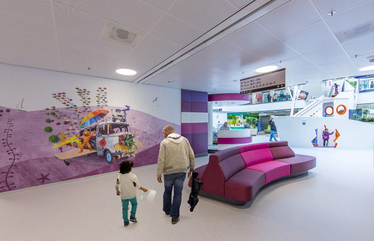 How to design a children's hospital as a soothing experience for young patients