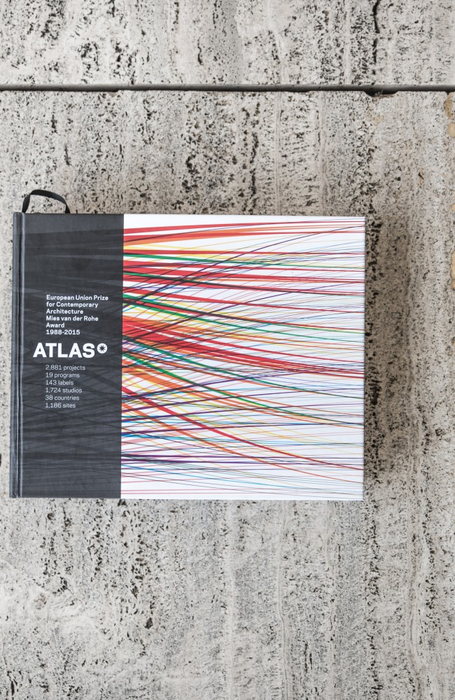 The Mies van der Rohe Foundation presents: ATLAS, a compilation of the 2,881 works nominated for the EU Architecture Prize