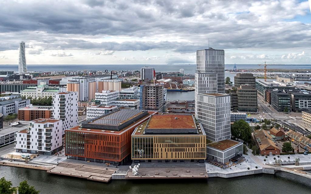 SHL_Architects_Malmö Live_Malmo from above-1