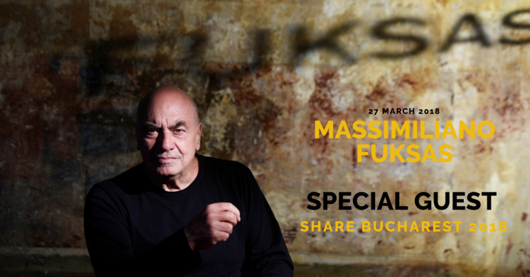 Massimiliano Fuksas, special guest at SHARE Bucharest 2018