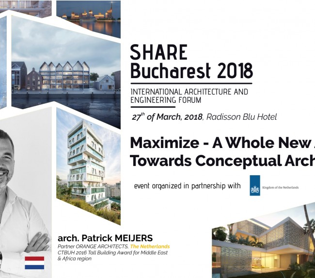 Dutch Architecture, Design and Innovation Showcased Each Year at SHARE Forum Architecture and Engineering Expo-conferences