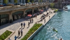 Chicago Riverwalk photo, Carol Ross Architect © Iwan Baan and Kate Joyce Studios